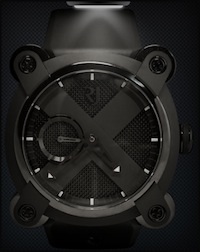 Romain Jerome Moon Invader Black Metal