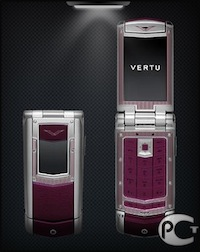 Vertu Constellation Ayxta Sapphire Keys Plum Limited Edition