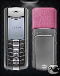 Vertu Ascent SE Pink