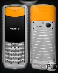 Vertu Ascent X Aluminium Orange