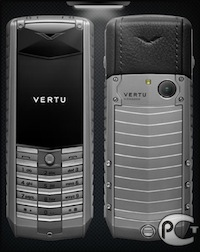 Vertu Ascent X Titan Black