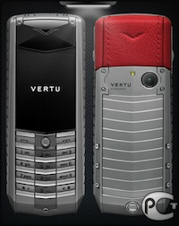 Vertu Ascent X Titan Red