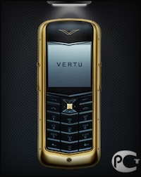 Vertu Constellation Ceramic Yellow Gold