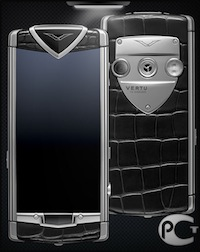 Vertu Constellation T Black Alligator