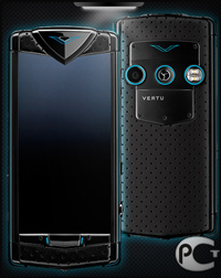 Vertu Constellation T Neon Blue