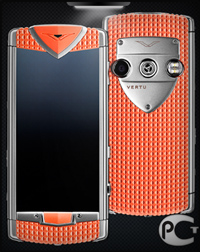 Vertu Constellation Smile Coral Red