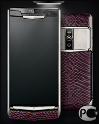 Vertu New Signature Touch Grape Lizard