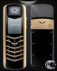 Vertu Signature M Design Yellow Gold